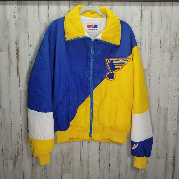 Vintage 80s St Louis Blues Swingster Jacket
